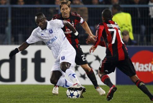 Милан увозит из Франции победу