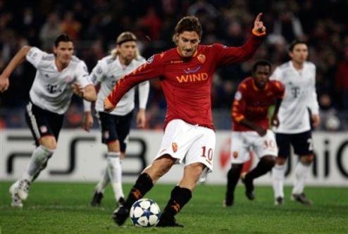 Рома побеждает Баварию