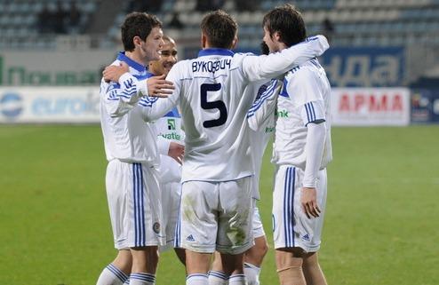 Динамо уверенно переиграло Севастополь