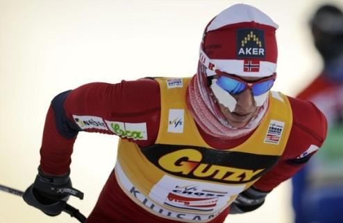 Лыжные гонки. Бьорген вне конкуренции