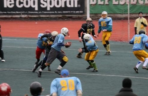 Американский футбол снова в Харькове