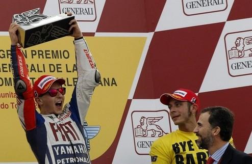Итоги-2010. MotoGP. Лоренсо против падений