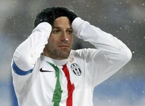 """Дель Пьеро: """"Никогда не играл по такой погоде"""""""