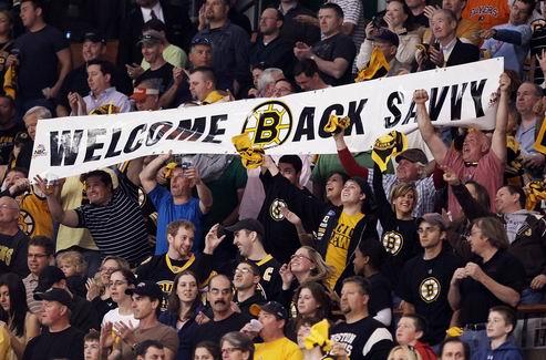 НХЛ. Савар готов уже сегодня вернуться в состав Бостона