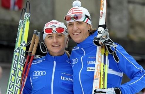 Лыжные гонки. Итальянки вырвали командный спринт!