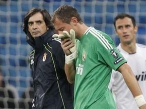 Голкипер Реала выбыл на шесть недель