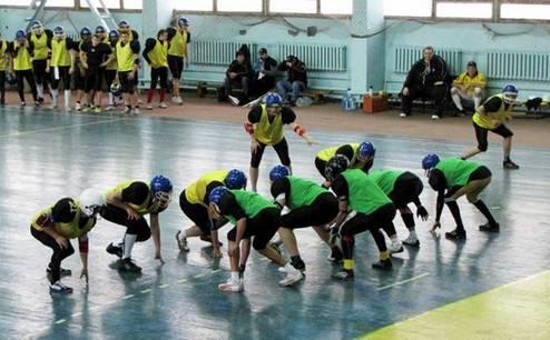 Американский футбол. Юноши разыгрывают первенство Донецка
