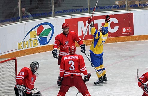 Прайм Евро Хоккей Челлендж. Украина — Польша. Онлайн