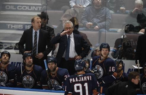 НХЛ. Тренер Эдмонтона надеется попасть в плей-офф