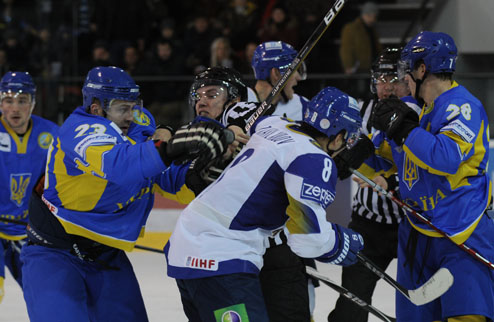 Прайм Евро Хоккей Челлендж. Украина разгромлена Казахстаном