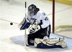 НХЛ. Вратарь Тампы-Бэй выбыл на две недели