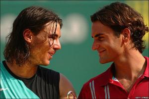 """Надаль: """"Мы с Федерером счастливы"""""""