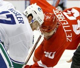 НХЛ. Зеттерберг признан первой звездой дня