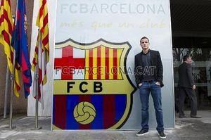 Афеллай прибыл в Барселону + ВИДЕО