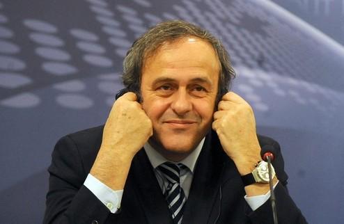 Платини останется президентом УЕФА
