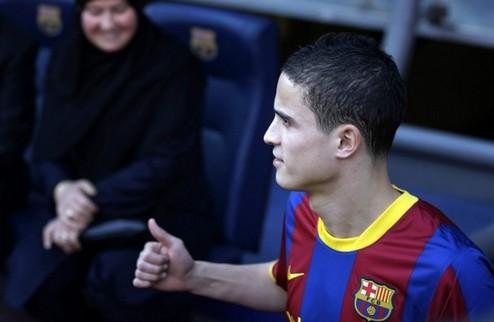 Афеллай подписал контракт с Барселоной