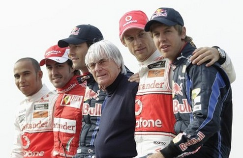 Формула-1. Итоги. №2 — Великолепная четверка и Баттон