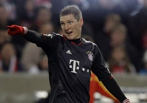 Швайнштайгер признан футболистом года в Германии