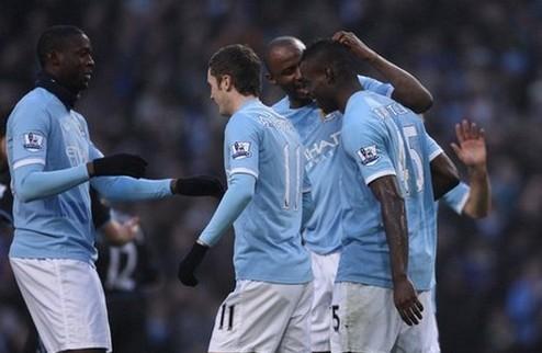 Манчестер Сити захватывает лидерство + ВИДЕО