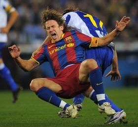 Пуйоль травмировался в игре за Каталонию