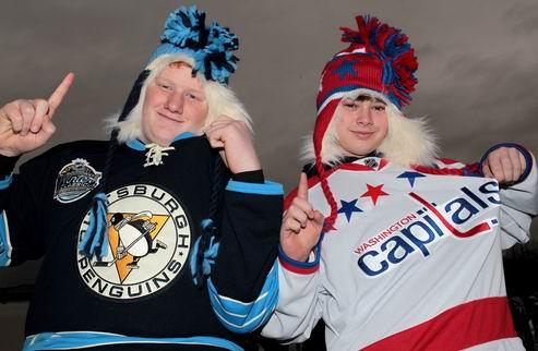 НХЛ. Винтер Классик. Фото