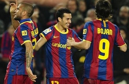 Барселона продолжает победную поступь
