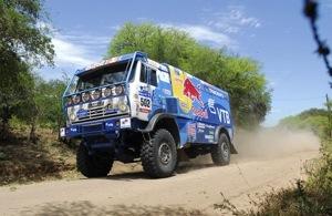 Дакар — 2011. Этап 4-й. Грузовики. Чагин увеличил отрыв