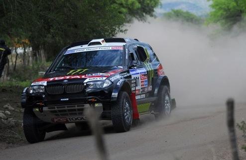 Дакар — 2011. Этап 5-й. Автомобили. Первая победа Петеранселя