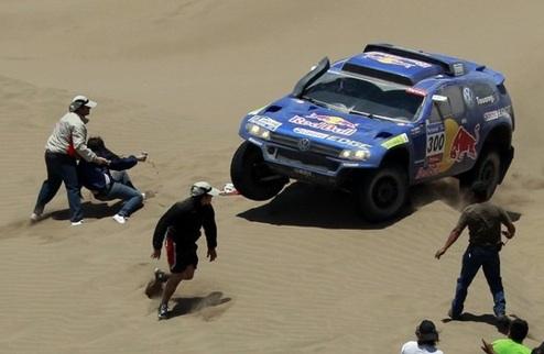 Дакар — 2011. Этап 6-й. Автомобили. Сайнс побеждает в четвертый раз