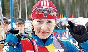 Биатлон. Бурдыга одержала первую победу за Украину