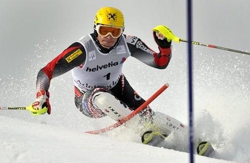 Горные лыжи. Костелич вырвал победу в Адельбодене