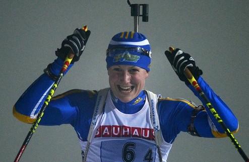 Биатлон. Экхольм выиграла эпическую гонку, Вита Семеренко — шестая