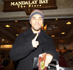 Монтиэль прибыл в Лас-Вегас