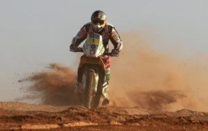 Дакар — 2011. Этап 10-й. Мотоциклы. Кома улетает от Депре