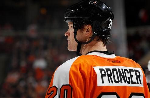 НХЛ. Пронгер скоро вернется в игру