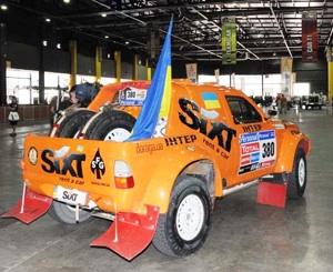 Дакар — 2011. Украинский экипаж добрался до финиша 11-го этапа