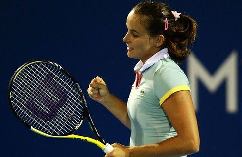 Хобарт (WTA). Грот бьет в финале Маттек-Сандс