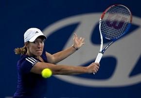 Энен не хочет говорить о шансах на Australian Open