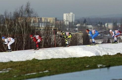 Лыжные гонки. Норвежцы вынесли всех в командном спринте