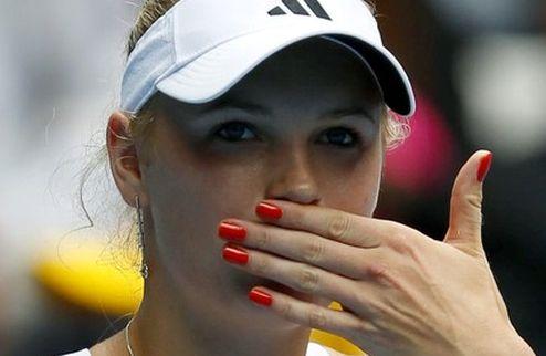Australian Open (WTA). Прогулочная победа Возняцки, неожиданное поражение Бартоли