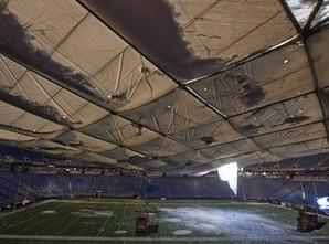Ремонт крыши Метродоума может занять около шести месяцев