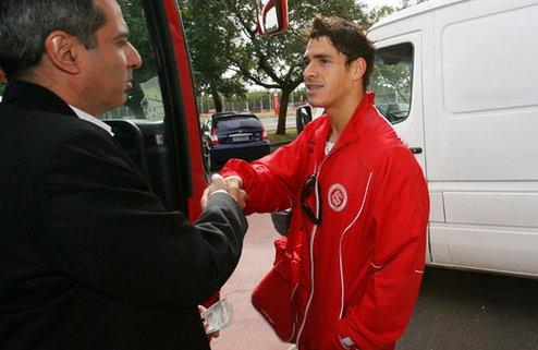 Жулиано прибыл в расположение Днепра
