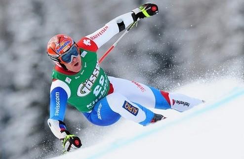 Горные лыжи. Куш выиграл королевский этап