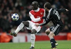 Защитник Арсенала получил сотрясение мозга