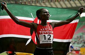 Ндереба заставили бежать марафон
