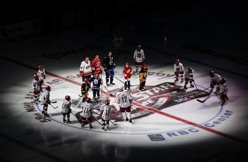 НХЛ. Матч всех звезд: победа за командой Лидстрема