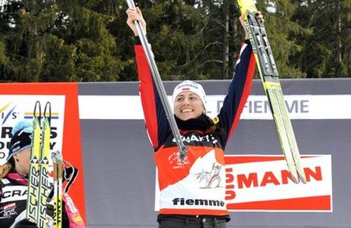 Лыжные гонки. Для Ковальчик Россия счастливая