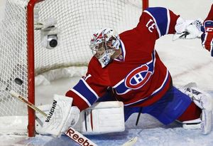 НХЛ. Прайс признан первой звездой дня