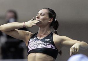 Легкая атлетика. Исинбаева возвращается и побеждает