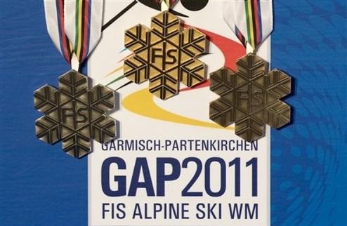 Горные лыжи. Программа ЧМ в Гармиш-Партенкирхене
